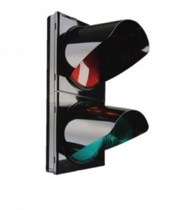 Feu bicolore avec ou sans télécommande  - Devis sur Techni-Contact.com - 1