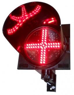 Feux signal croix rouge - Devis sur Techni-Contact.com - 1