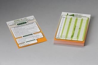 Fiche de score mini golf - Devis sur Techni-Contact.com - 1
