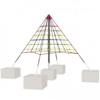 Filet d'escalade pyramide - Devis sur Techni-Contact.com - 1