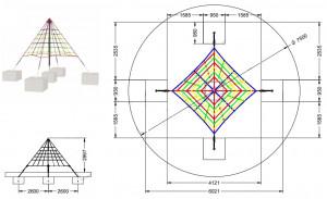 Filet d'escalade pyramide - Devis sur Techni-Contact.com - 2