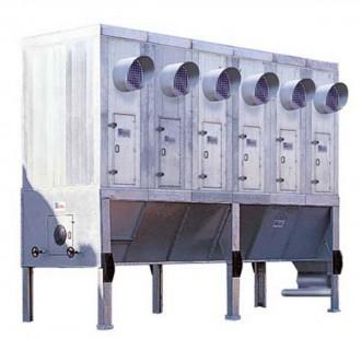 Filtre à manches modulaires de bois industriel - Devis sur Techni-Contact.com - 1