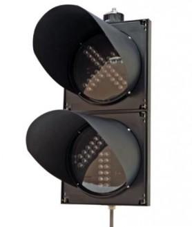 Flèche et croix de signalisation pour station - Devis sur Techni-Contact.com - 1