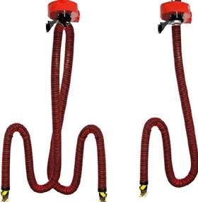 Flexible suspendu pour aspirateur de gaz d'échappement - Devis sur Techni-Contact.com - 1