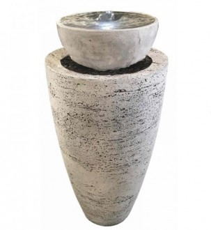 Fontaine de jardin en béton fibré - Devis sur Techni-Contact.com - 1