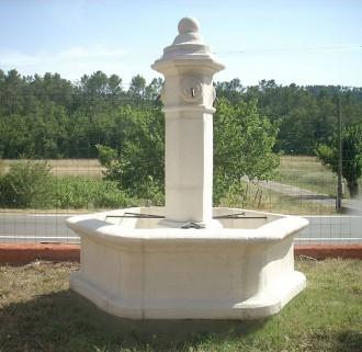 Fontaine de jardin en pierre reconstituée - Devis sur Techni-Contact.com - 1