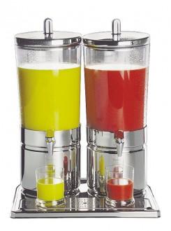 Fontaine jus de fruit double inox - Devis sur Techni-Contact.com - 1