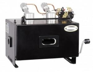 Forge à gaz avec 2 brûleurs et 2 ouvertures latérales - Devis sur Techni-Contact.com - 1