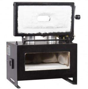 Forge à gaz avec 2 brûleurs et 2 ouvertures latérales - Devis sur Techni-Contact.com - 2