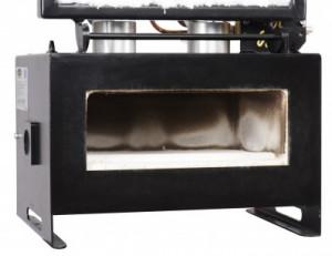Forge à gaz avec 2 brûleurs et 2 ouvertures latérales - Devis sur Techni-Contact.com - 3