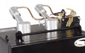 Forge à gaz avec 2 brûleurs et 2 ouvertures latérales - Devis sur Techni-Contact.com - 4