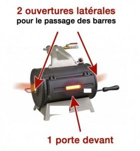 Forges à gaz d'atelier en brique réfractaire - Devis sur Techni-Contact.com - 2