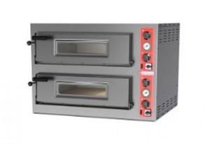 Four à pizza électrique 2 x 6 - Devis sur Techni-Contact.com - 1