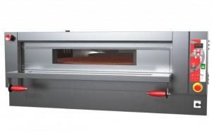 Four à pizza électrique à pierre réfractaire rotative - Devis sur Techni-Contact.com - 1