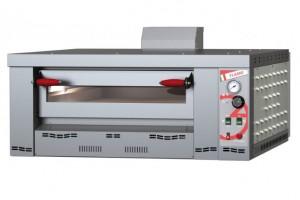 Four à pizza gaz chambre de cuisson en tôle aluminium - Devis sur Techni-Contact.com - 1