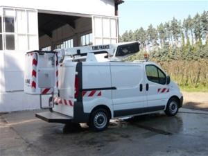 Fourgon nacelle sur camion 8 mètre de hauteur - Devis sur Techni-Contact.com - 1
