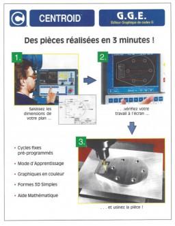 Fraiseuse de précision semi banc fixe DF4-CNC - Devis sur Techni-Contact.com - 3