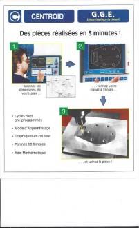 Fraiseuse semi banc fixe DF3-CNC - Devis sur Techni-Contact.com - 2