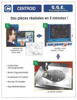 Fraiseuse semi banc fixe grande course - Devis sur Techni-Contact.com - 2