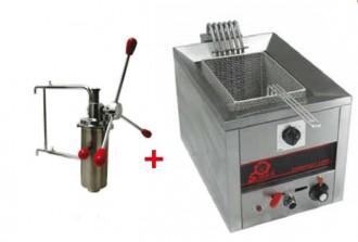 Friteuse chichi électrique 6000w - Devis sur Techni-Contact.com - 1