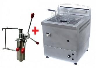 Friteuse churros à gaz 10 litres - Devis sur Techni-Contact.com - 1