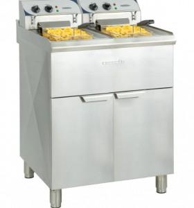 Friteuse électrique cuve 2 x 10 litres - Devis sur Techni-Contact.com - 1