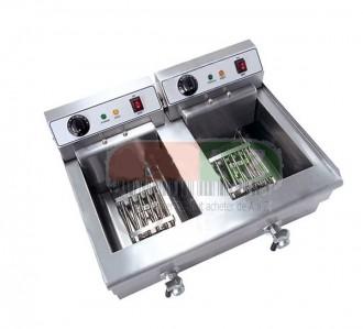 Friteuse électrique double bacs - Devis sur Techni-Contact.com - 2