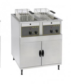 Friteuse électrique sur coffre à zone froide - Devis sur Techni-Contact.com - 2