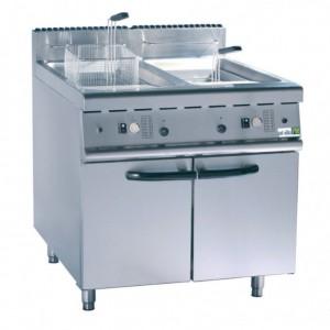 Friteuse gaz sur coffre 2 x 20 litres - Devis sur Techni-Contact.com - 1