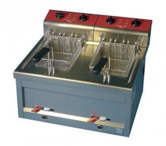 Friteuse professionnelle électrique 2 x 12 L max - Devis sur Techni-Contact.com - 1