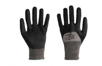 Gant anti coupure nitrile noir - Devis sur Techni-Contact.com - 1