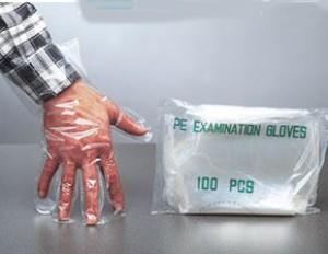 Gant de propreté jetable en polyéthylène - Devis sur Techni-Contact.com - 1