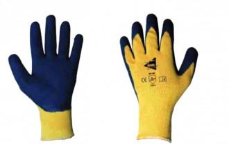 Gant de protection latex bleu - Devis sur Techni-Contact.com - 1
