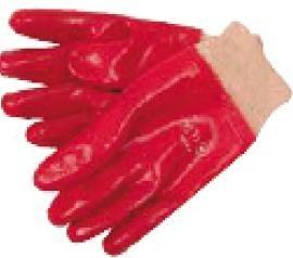 Gant enduit PVC rouge - Devis sur Techni-Contact.com - 1