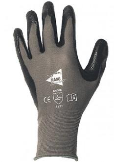 Gant manutention nitrile noir - Devis sur Techni-Contact.com - 1