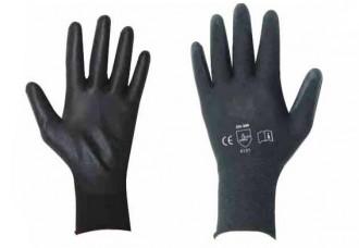 Gant polyuréthane noir Taille 6 à 11 - Devis sur Techni-Contact.com - 1
