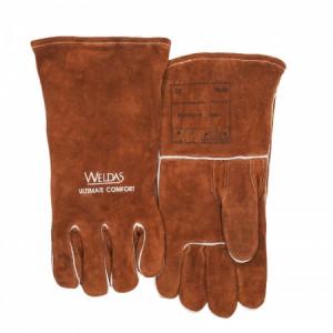 Gants soudeur MIG-MAG Weldas 10-2392 avec pouce droit renforcé - Devis sur Techni-Contact.com - 2