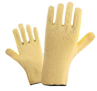 Gant tricoté jaune pour manutention industrielle - Devis sur Techni-Contact.com - 1