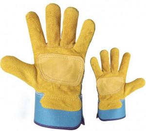 Gants de manutention en cuir vachette - Devis sur Techni-Contact.com - 1