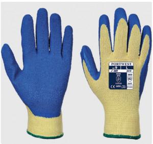 Gants anti-coupure en latex bleu - Devis sur Techni-Contact.com - 1