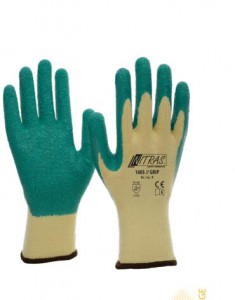 Gants de manutention en polyester et latex - Devis sur Techni-Contact.com - 1