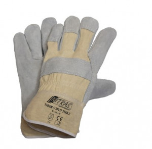 Gants de protection cuir vachette - Devis sur Techni-Contact.com - 1