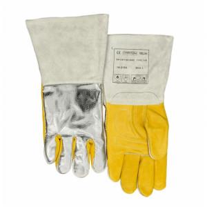 Gants soudeur MIG-MAG  Wedas 10-2755 renforcé et dos aluminisé - Devis sur Techni-Contact.com - 1