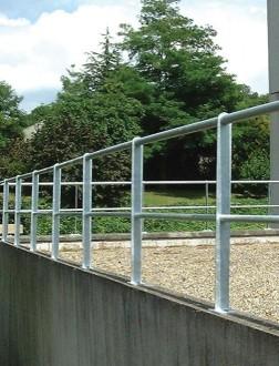 Garde corps aluminium pour terrasse - Devis sur Techni-Contact.com - 1