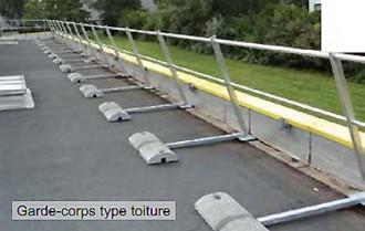 Garde-corps autoportant en aluminium - Devis sur Techni-Contact.com - 1