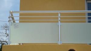 Garde corps en verre et aluminium - Devis sur Techni-Contact.com - 2