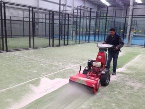 Gazon synthétique pour rénovation terrain padel - Devis sur Techni-Contact.com - 4