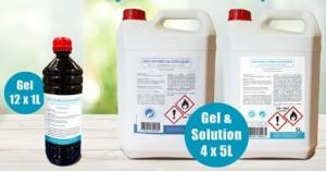 Gel hydroalcoolique pour les mains (carton) - Devis sur Techni-Contact.com - 1