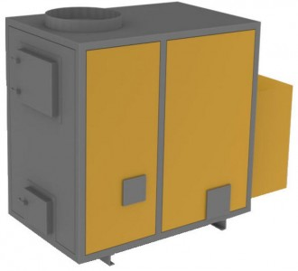 Générateur à air chaud à bois - Devis sur Techni-Contact.com - 2