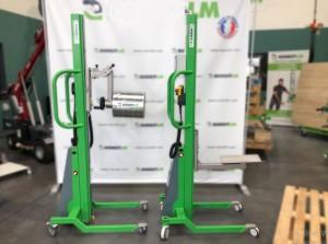 Gerbeur électrique pour levage bobine 80/600 kg - Devis sur Techni-Contact.com - 1